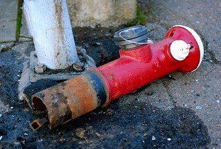 Hit and run hydrant | by Courtney Nash