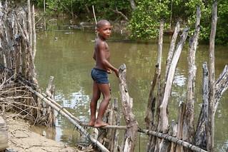 Los niños juegan, pescan y aprenden en el manglar | by °°°paula°°°
