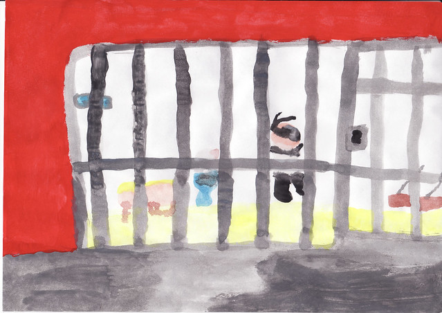 Jail cell painting