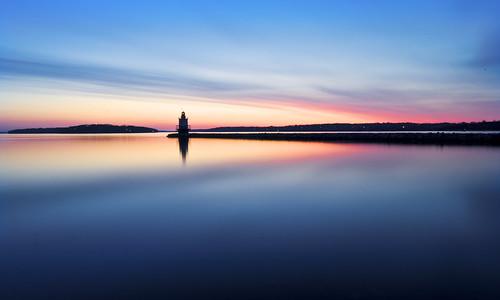 longexposure lighthouse sunrise portland nikon maine moe minimalism southportland breakwater d300 sigma1020mm ndfilter abigfave moe76
