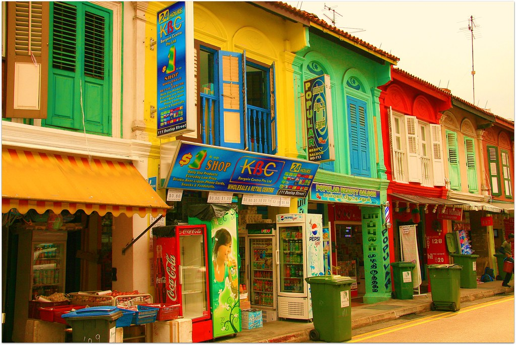 The Colorful Streets of Little India, Singapore - To learn ...