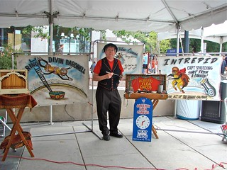 The Alberti Flea Circus at BugFest, sponsored by the Museum of Natural Sciences, Raleigh, NC | by virgohobbs