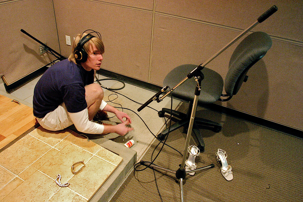 Foley Room at the Sound Design Campus | Foley is the art of