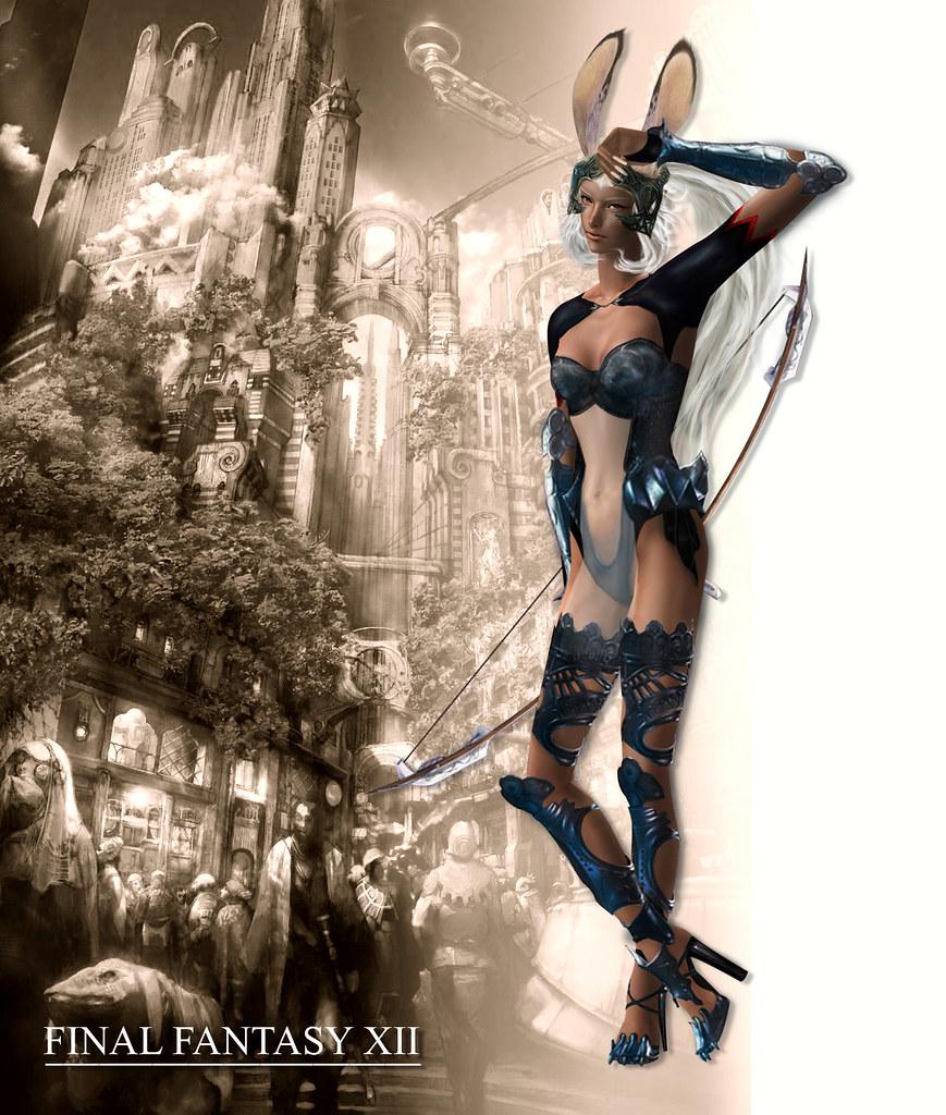 Final Fantasy X Sexy final fantasy xii -fran | a sexy female rabbit viera race ,o