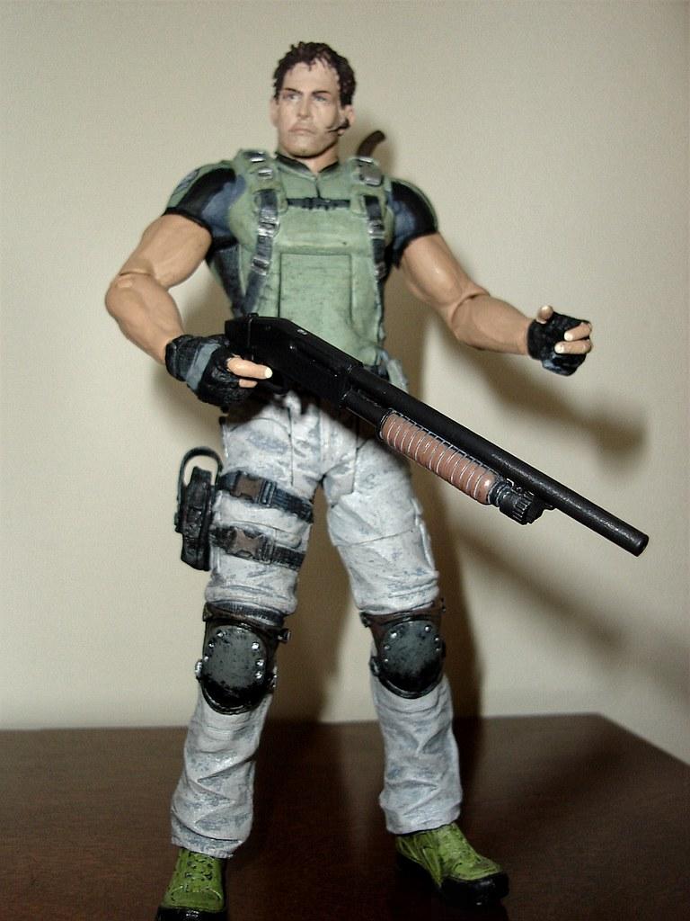 Resident Evil 5 Chris Redfield Neca Action Figure Get Loud Flickr