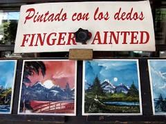 Finger Painting by Dardo Rider Ortega