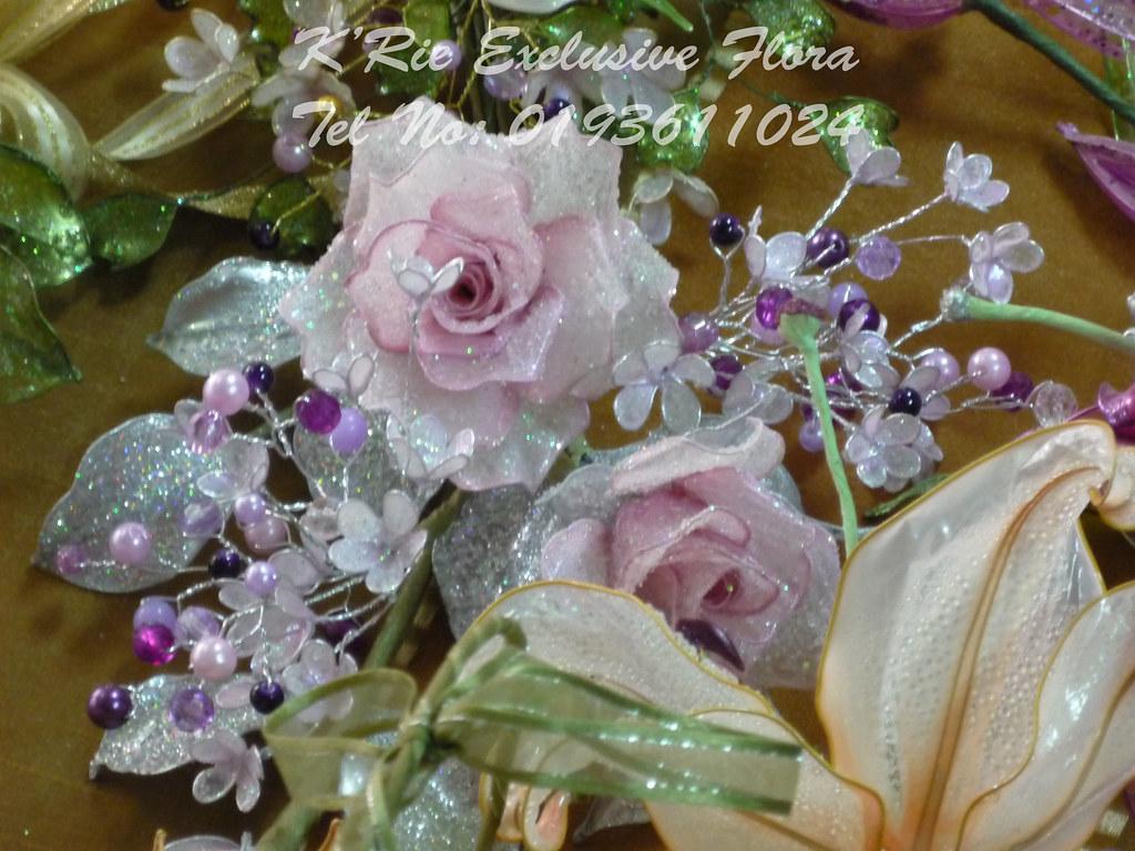 Bunga Kristal Dip Rose K Rie Xclusive Flora Flickr