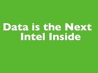 Data is the Next Intel Inside | by psd