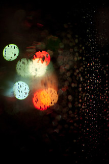 It's Christmas!  No, it's a stoplight!  No, it's rain! | by mr_mayer