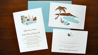 Wedding invitations   by Jeff Tabaco