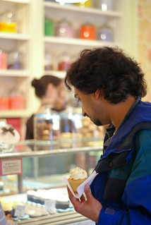 05146 Anand with one in hand at Miette Confiserie | by geekstinkbreath