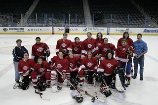 Philips Arena Game, 2009 | by Atlanta Lady Thrashers Hockey