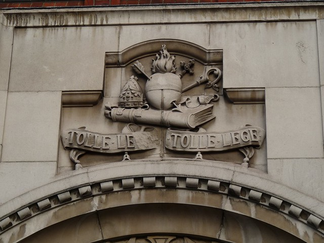 Tolle Le.. Tolle Lege, St. Augustine's at Hammersmith