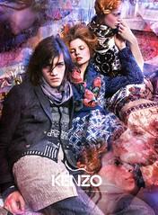 KENZO  Fall/Winter 2009 AD campaign