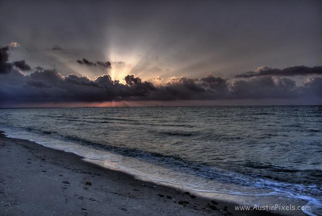 Sunrise in Corpus Christi