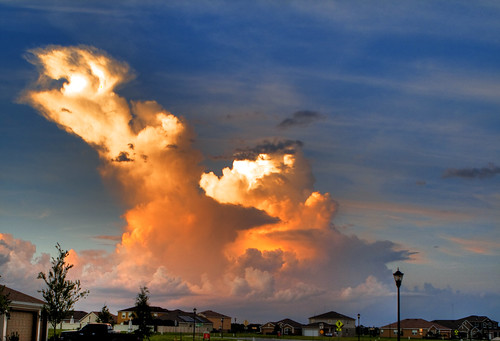sunset cloud storm sunrise