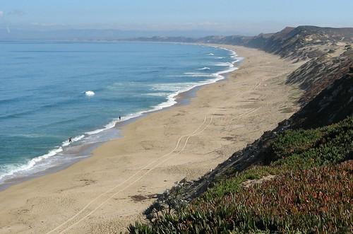 Sand City beach north