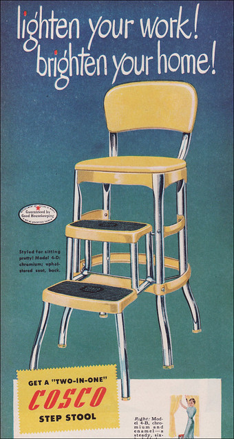 Admirable 1949 Cosco Step Stool In 1950 You Were Not Allowed To Cons Ocoug Best Dining Table And Chair Ideas Images Ocougorg
