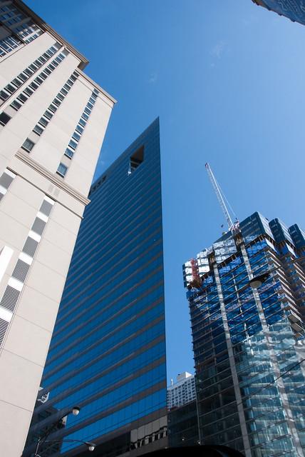 cardboard skyscraper in chicago
