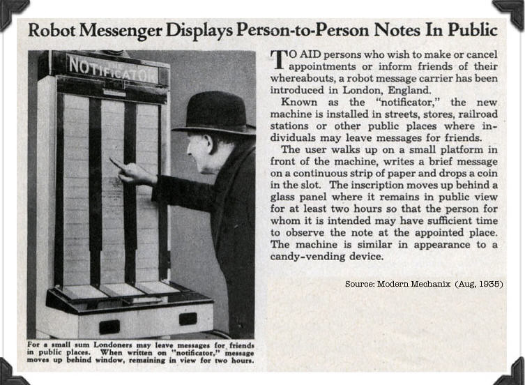 twitter robot from 1935!