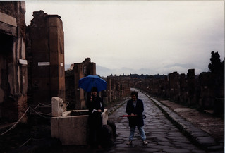 Pompeii--still angry in the streets