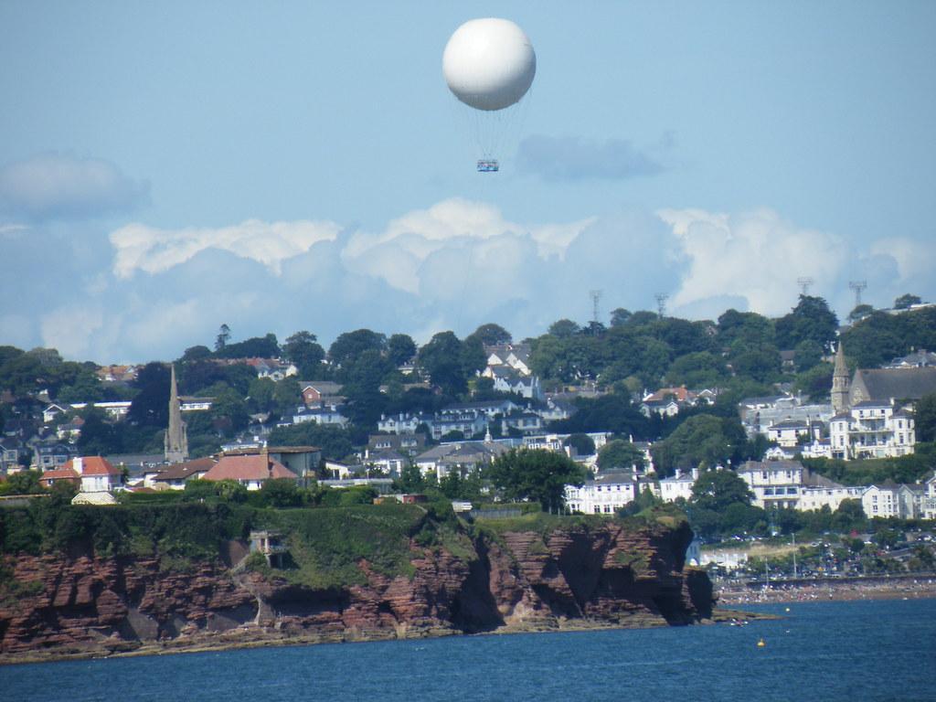 Torquay Balloon from Paignton Pier