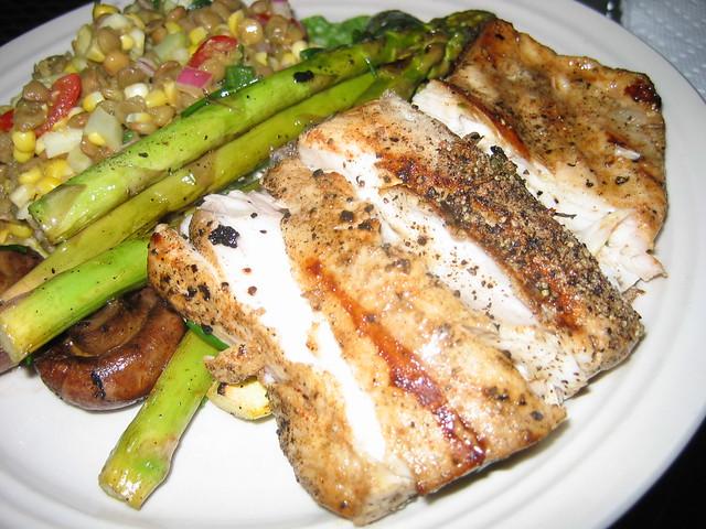 Dinner: August 4, 2009