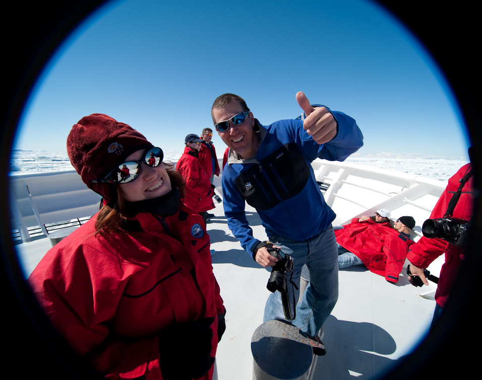 Thumbs Up Antarctica