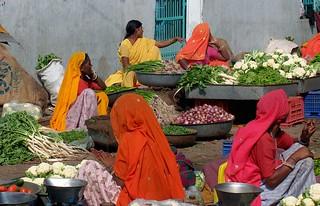 Vegetable market; Kuchaman, Rajasthan, India | by foxypar4