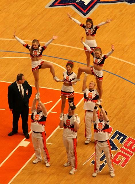 Syracuse University Cheerleaders Kevin Coles Flickr