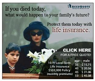 Worst Life Insurance Ad Ever Ideaczar Flickr