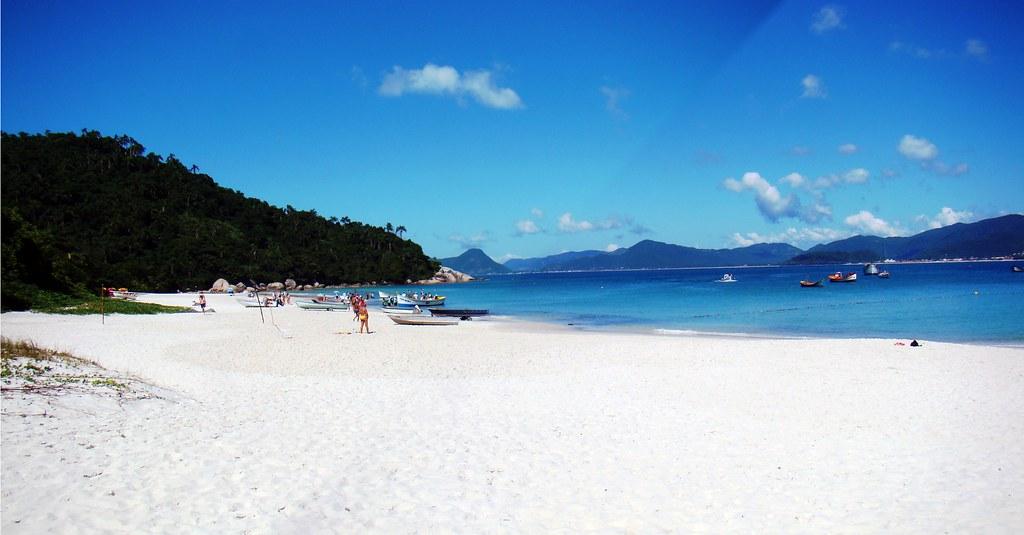 Ilha do Campeche leste da Ilha de Santa Catarina florianopolis o havai brasileiro