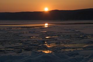 Sunset over Lake Baikal | by skinnydiver