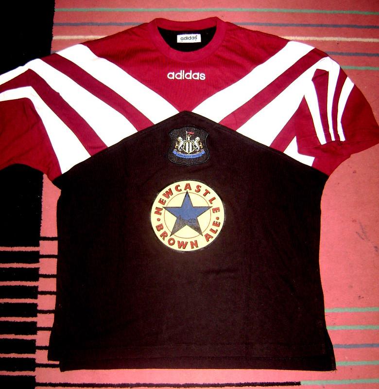 Newcastle United FC Training Shirt 1995/1996