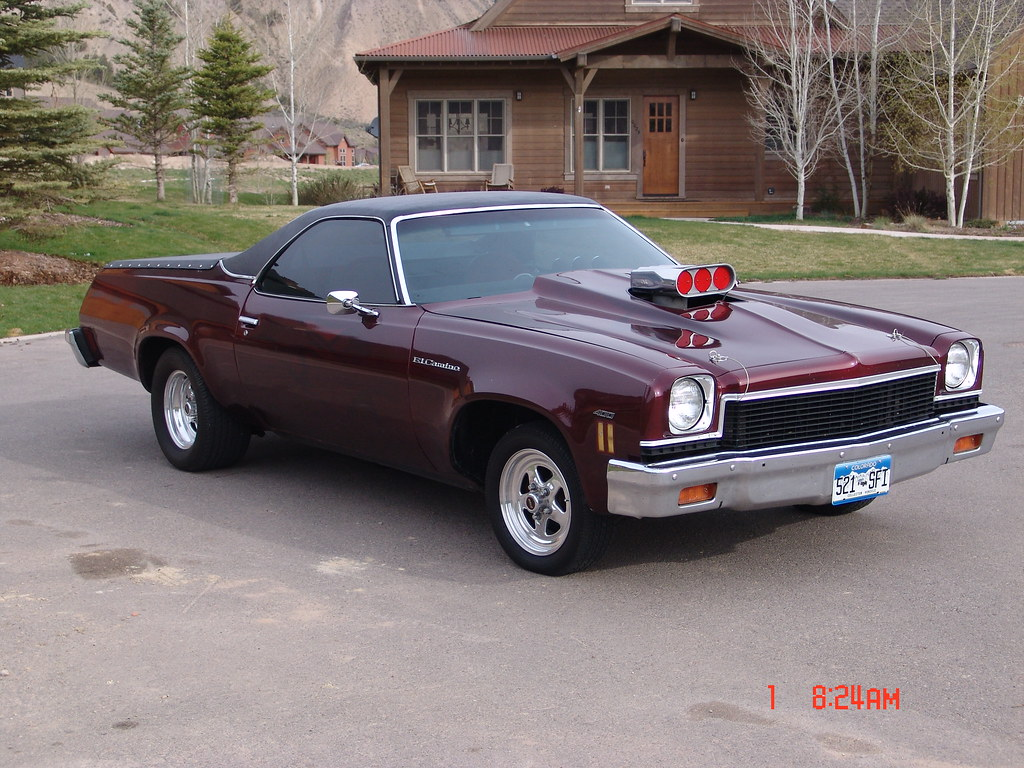 1973 El Camino 003 | Front passenger quarter view: The 1973 … | Flickr