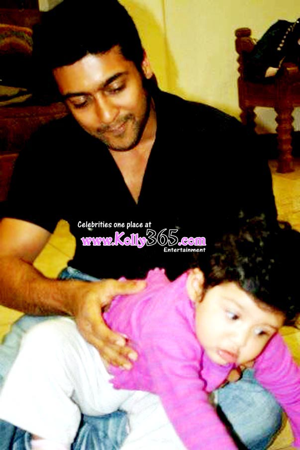 Actor Surya Jyothika Baby Diya Latest Stills Images Photo Gallery