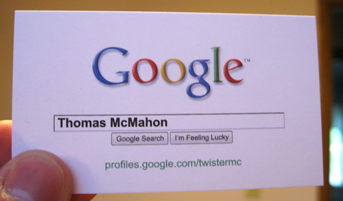 Google Business Card | by TwisterMc