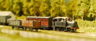 """Mixed train, """"Lydham Heath""""   by Forest Pines"""
