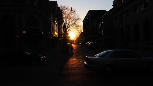 street sunset west frederick