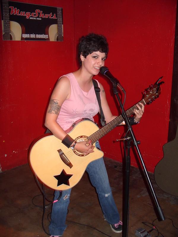 Amanda Lepre at Mugshots