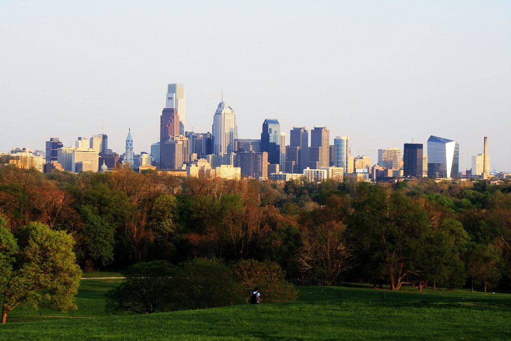 Philadelphia Skyline : Belmont Plateau by UrbanPerspectiV