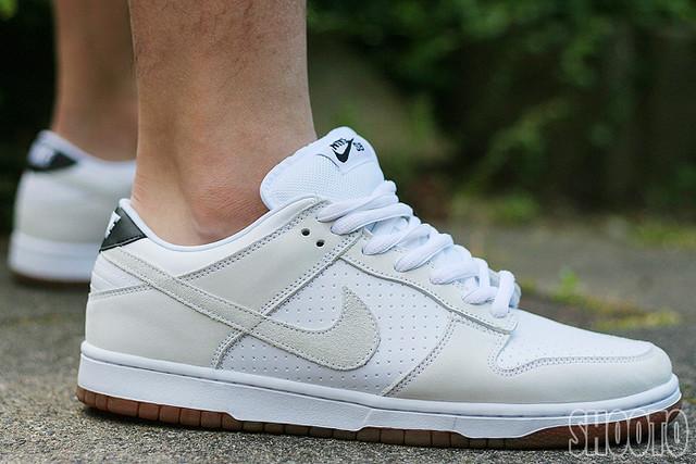 pretty nice e0771 72157 WDYWT - Nike Dunk Low Premium SB - white/white | 313170-112 ...
