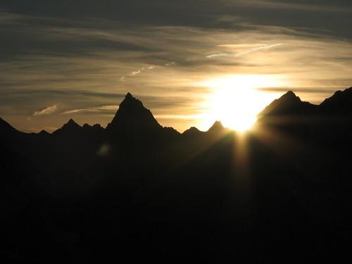 urlaub landschaft wandern alpencross2009