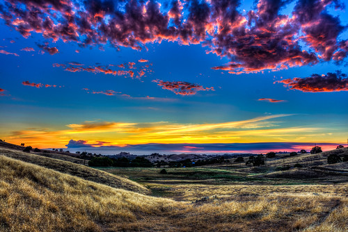 sunset foothills sierranevada amador amadorcounty
