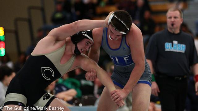 182 - Braxton Legg (Commerce) over Ean Vonwald (Foley) Dec 8-1