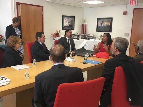 Gov. Malloy and Commissioner Wentzell Host U.S. Education Secretary King for Roundtable Discussion at New Haven's Wilbur Cross High School | by Office of Governor Dan Malloy