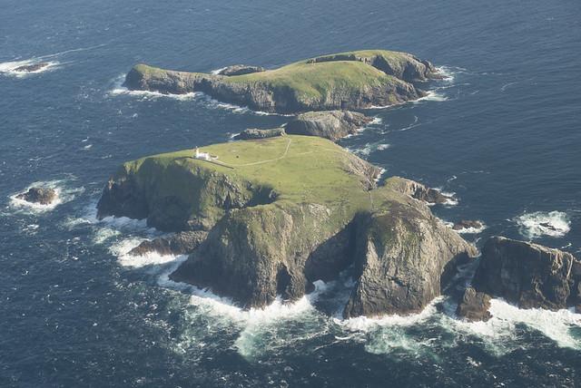 Eilean Mor Lighthhouse, Flannan Isles, Western Isles in 2013