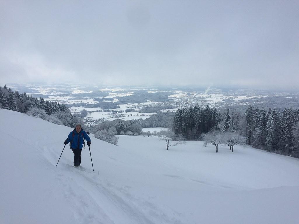Skitour auf den Bachtel Jan 17'