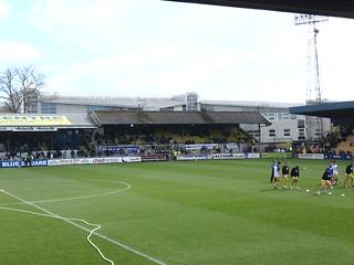 Plainmoor: The Grandstand