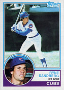1983 Topps Ryne Sandberg   by Sports Collectors Daily